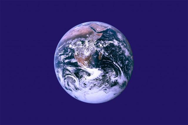 Bandera de la Tierra por John McConnell.