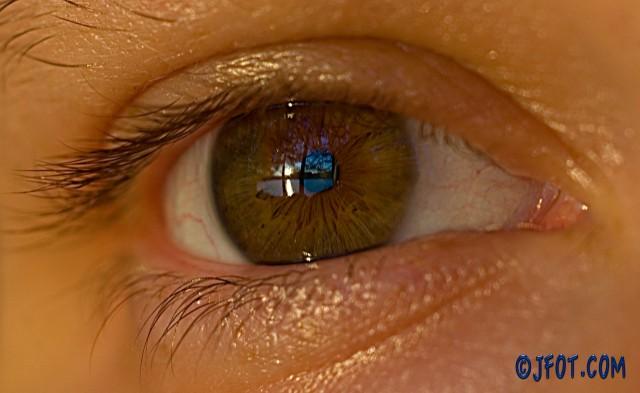 Paisaje en la pupila