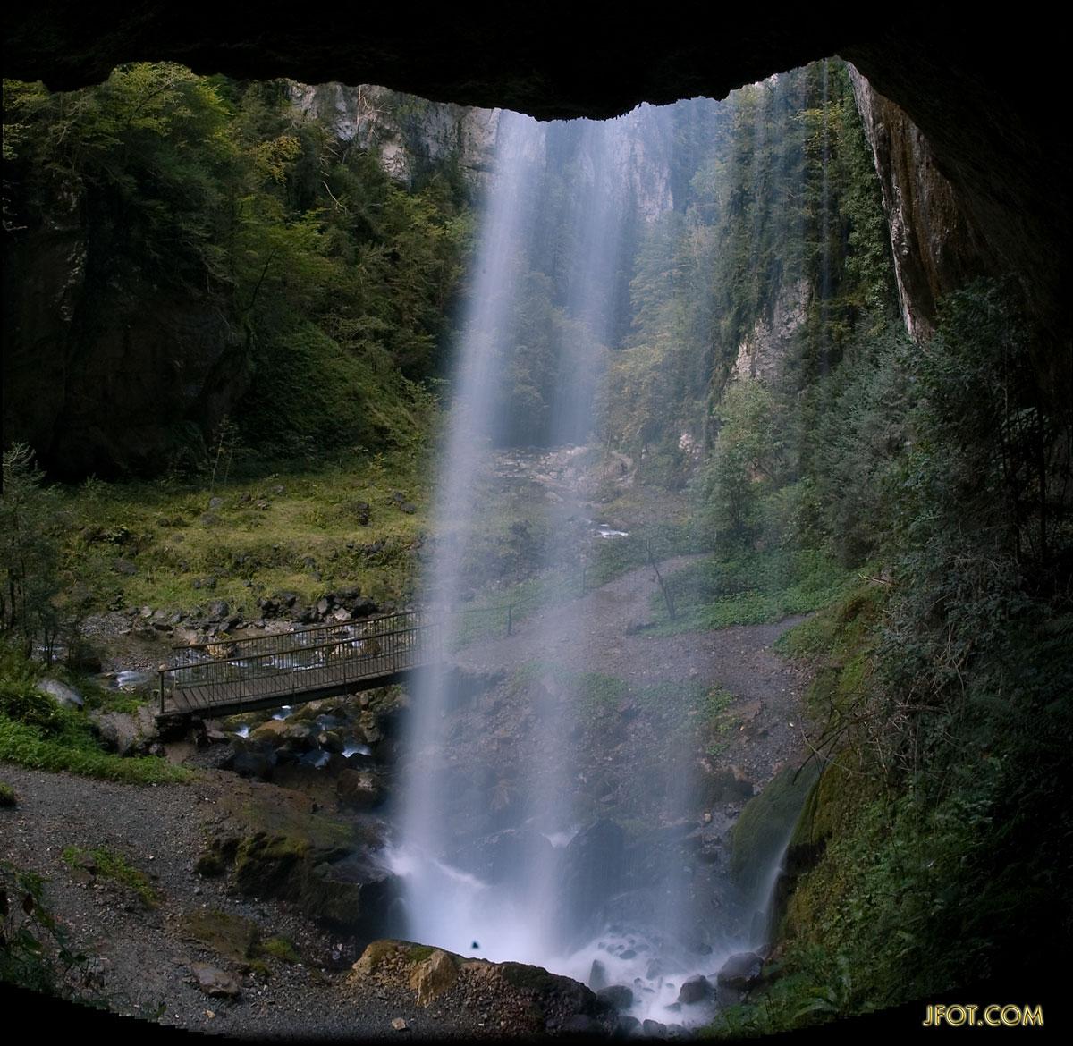 La cascada de Kakouetta.