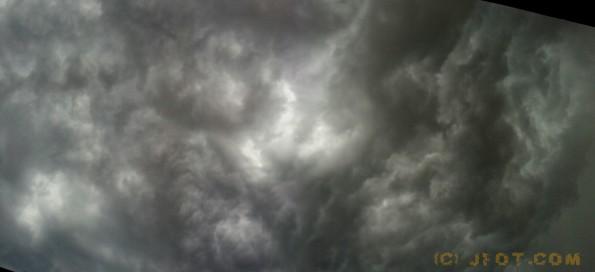 Cielo tormentoso